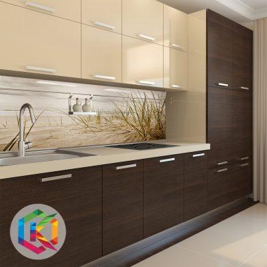 szkło hartowane z grafiką do kuchni